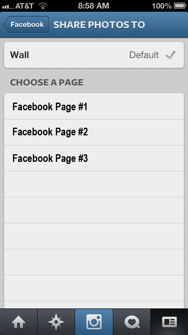 how to add instagram tab in facebook page